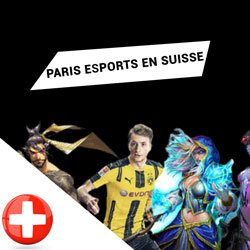 Paris esports en Suisse
